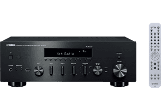 YAMAHA R-N602 HiFi Receiver (2 Kanäle, 105 Watt pro Kanal, Schwarz)