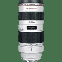 CANON 70 mm-200 mm f/2.8 EF, L-series, USM (Objektiv für Canon EF-Mount, Weiß/Schwarz)