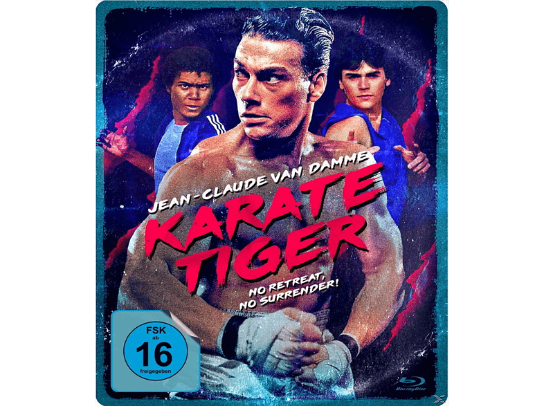 Karate Tiger - Uncut (Limited Steelbook Edition exklusiv bei Media Markt) [Blu-ray]
