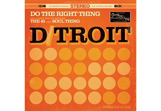 D/Troit - Do The Right Thing  - (CD)