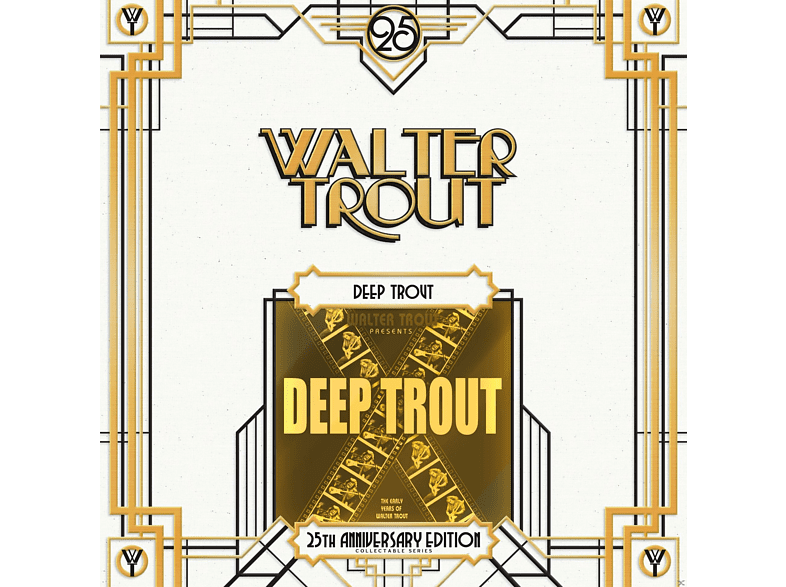 Walter Trout - Deep Trout (25th Anniversary Series Lp2) [Vinyl]