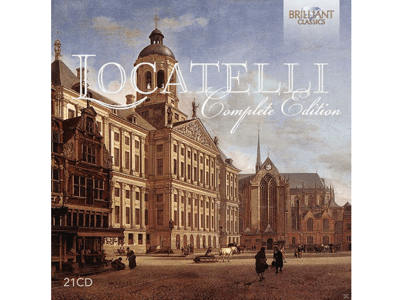 VARIOUS - Locatelli. Complete Edition [CD]