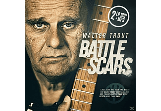 Walter Trout - Battle Scars (2lp 180 Gr.Black Vinyl+Mp3)  - (LP + Download)