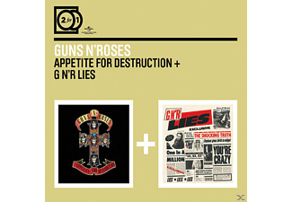 Guns N' Roses - 2 For 1: Appetite For Destruction/GN'r Lies - (CD)