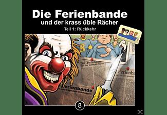 Die Ferienbande - Die Ferienbande Und Der Krass Üble Rächer Folge 8  - (CD)