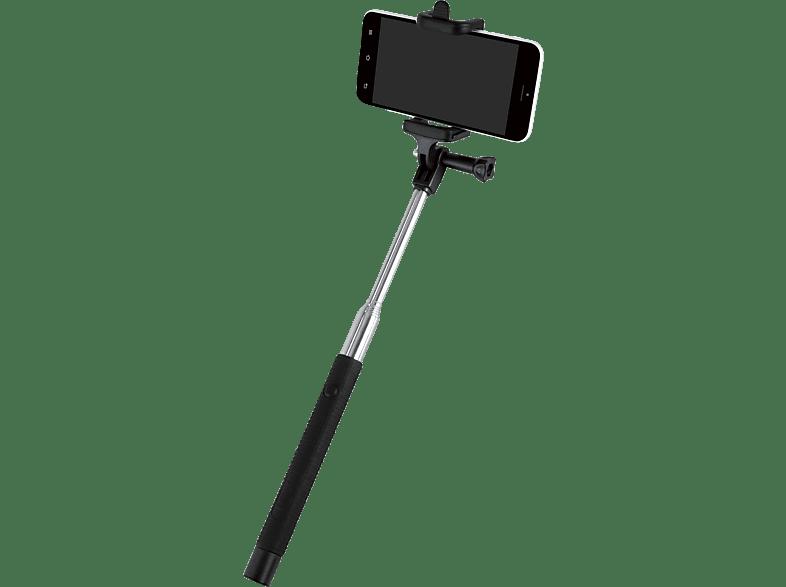 ISY ISW-1001 Selfie Stick, Schwarz