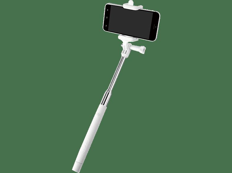 ISY ISW-1002 Selfie-Stick, Weiß