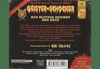 Geister-Schocker - Geister-Schocker 53: Das Blutige Zeichen der Hexe  - (CD)