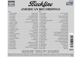 VARIOUS - Backline Vol.169  - (CD)