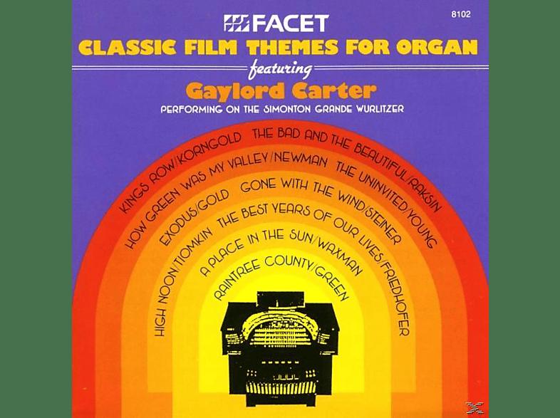 Gaylord/wurlitzer-orgel Carter - Classic Film Themes [CD]