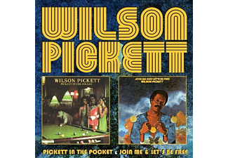Wilson Pickett - Pickett In The Pocket/Join Me/Lets Be Free  - (CD)
