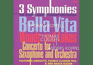 Jens Haack Olesen, Annisette, Thomas Trio Clausen - Anders Koppel: Saxophonkonzert  - (CD)