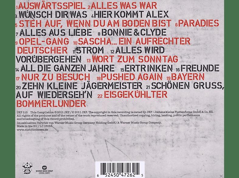 Räumungspreis genießen heiß-verkaufender Fachmann Qualität zuerst Die Toten Hosen - All die ganzen Jahre - Ihre besten Lieder (Best Of) [CD]