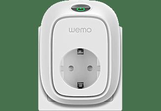 Enchufe inteligente - Belkin WeMo, Interruptor remoto, Wi-Fi, Compatible Android y iOs, Blanco