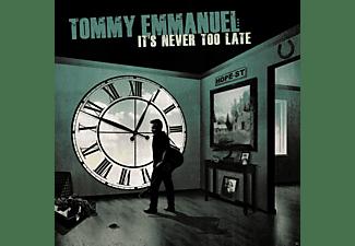 Tommy Emmanuel - It's Never Too Late (Lp)  - (Vinyl)