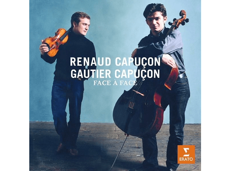 CAPUCON,RENAUD & CAPUCON,GAUTIER - Face A Face  Works For Violin & Ce [CD]