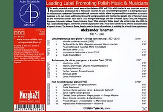 Tyszecka: Piano Elzbieta - Klaviermusik  - (CD)