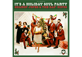 Sharon & The Dap-kings Jones - It's A Holiday Soul Party! (Red Vinyl/Lp+Mp3)  - (Vinyl)