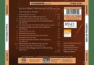 Neeme Jarvi, Royal Scottish National Orchestra - A Festival Of Fucik-Orchesterwerke  - (SACD Hybrid)