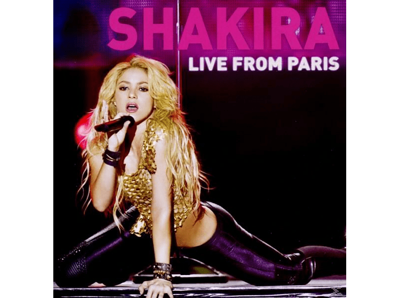 Shakira - Shakira - Live From Paris [CD + DVD Video]
