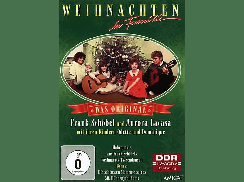 Frank Schöbel - WEIHNACHTEN IN FAMILIE-DIE ORIGINAL TV SHOW [DVD]
