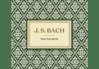 VARIOUS - Bach: Drei Klavierkonzerte  - (CD)
