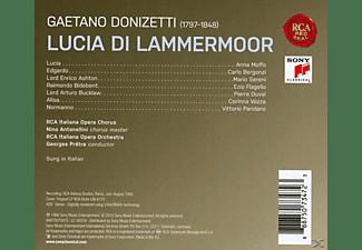 Georges Prêtre, Anna Moffo, Carlo Bergonzi - Lucia Di Lammermoor (Remastered)  - (CD)