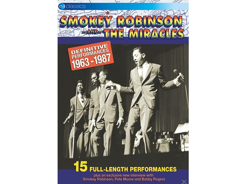 Smokey Robinson & The Miracles - Definitive Performances 1963-1987 [DVD]