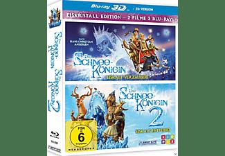 Die Schneekönigin 3D 1+2 (2er Box) 3D Blu-ray (+2D)