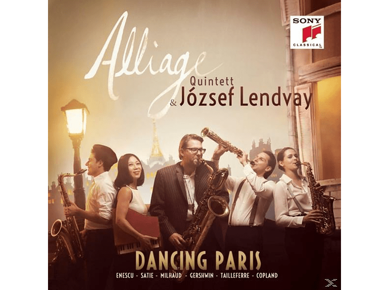 József Lendvay, Alliage Quintett - Dancing Paris [CD]