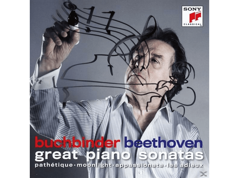 Rudolf Buchbinder - Beethoven: Great Piano Sonatas [CD]