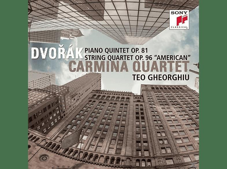 Carmina Quartet & Teo Gheorghiu - Piano Quintet Op.81/Streichquartett Op.96 American [CD]