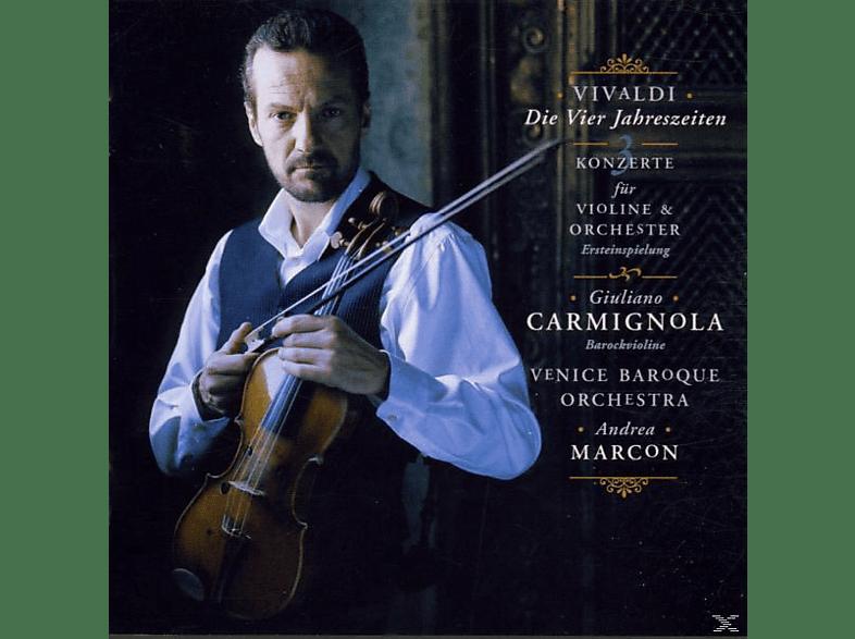 Giuliano Carmignola, Venice Baroque Orchestra - Die Vier Jahreszeiten/Drei Konzerte [CD]
