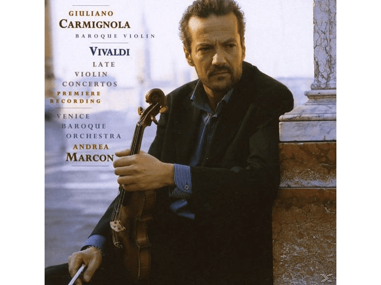 Giuliano Carmignola, Venice Bar - Vivaldi: Late Violin Concertos [CD]
