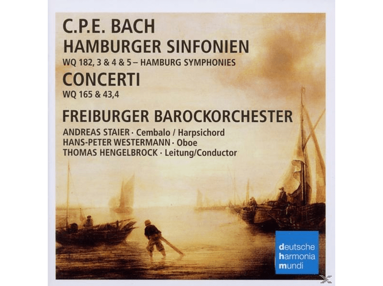 Freiburger Barockorchester, VARIOUS, Staier, Hengelbrock - Hamburger Sinfonien & Concerti [CD]