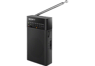 SONY ICF-P26 Tragbares Radio, Analog, Schwarz