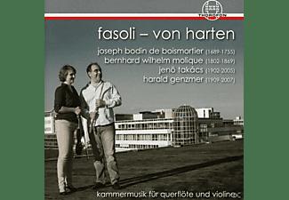 Katharina  Fasoli - Von Harten, Valerio Fasoli - Kammermusik Für Querflöte Und Violine  - (CD)