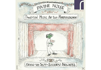 Delft, Menno van / Brachetta, Guillermo - Divine Noise-Theatrical Music For Two  - (CD)