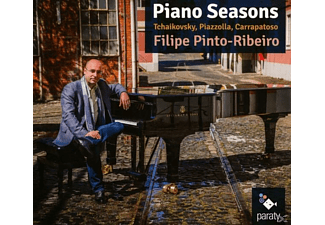 Filipe Pinto-ribeiro - Piano Seasons  - (CD)
