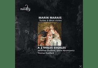 Abramowicz Dunford - Suites A Deux Violes  - (CD)