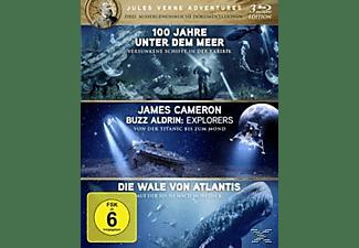 Jules Vernes - Drei aussergewöhnliche Dokumentationen Blu-ray
