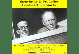 VARIOUS - Stravinsky & Prokofiev Conduct Their Works  - (CD)