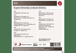 Eugene Ormandy - Eugene Ormandy Conducts Sibelius  - (CD)