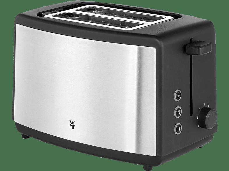 WMF 04.1411.0011 Bueno Toaster Edelstahl matt (800 Watt, Schlitze: 2)
