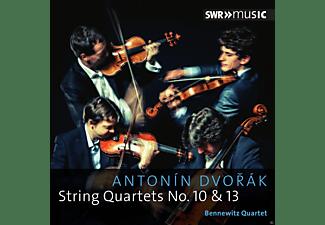 Bennewitz Quartet - String Quartets No. 10 & 13  - (CD)