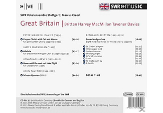 Marcus Creed, Swr Vokalensemble Stuttgart - Great Britain  - (CD)