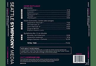 "Ludovic Morlot, Augustin Hadelich, Seattle Symphony Orchestra - Metaboles / L'arbre Des Songes / Symphony No. 2 ""le Double""  - (CD)"