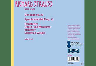 Sebastian Weigle, Frankfurter Opern- Und Museumsorchester - Don Juan/Symphonie F-Moll Op.12  - (CD)