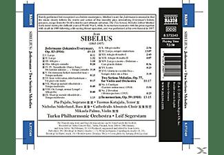 Pajala, Leif Segerteam, Turku Philharmonic Orcestra - Jedermann/Two Serious Melodies/In Memoriam  - (CD)