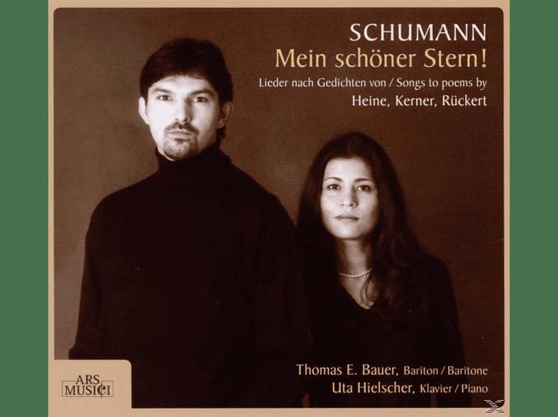 Uta Hielscher (klavier) Thomas E Baer (bariton), Bauer,Thomas E./Hielscher,Uta - Mein Schöner Stern! [CD]
